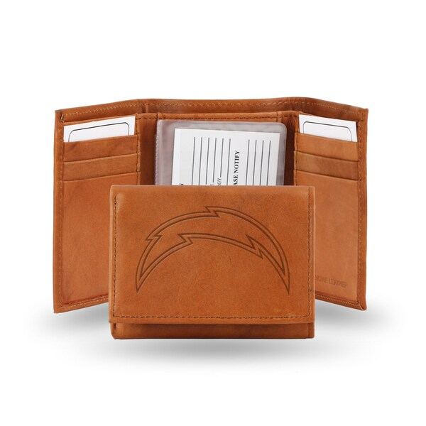 San Diego Chargers Leather Embossed Tri-fold Wallet