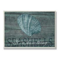 Havenside Home Buckroe Seashells Wall Plaque