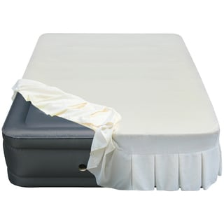 Altimair Raised 20-inch Queen-size Airbed with Perfectly Fitted Skirted Sheet Cover