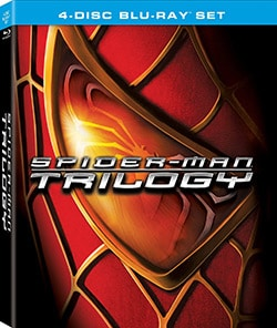 Spider-Man Trilogy: Spider-Man / Spider-Man 2 / Spider-Man 3 (Blu-ray Disc)
