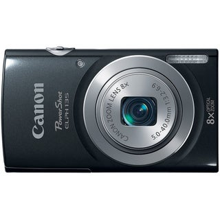 Canon PowerShot 135 16 Megapixel Compact Camera - Black