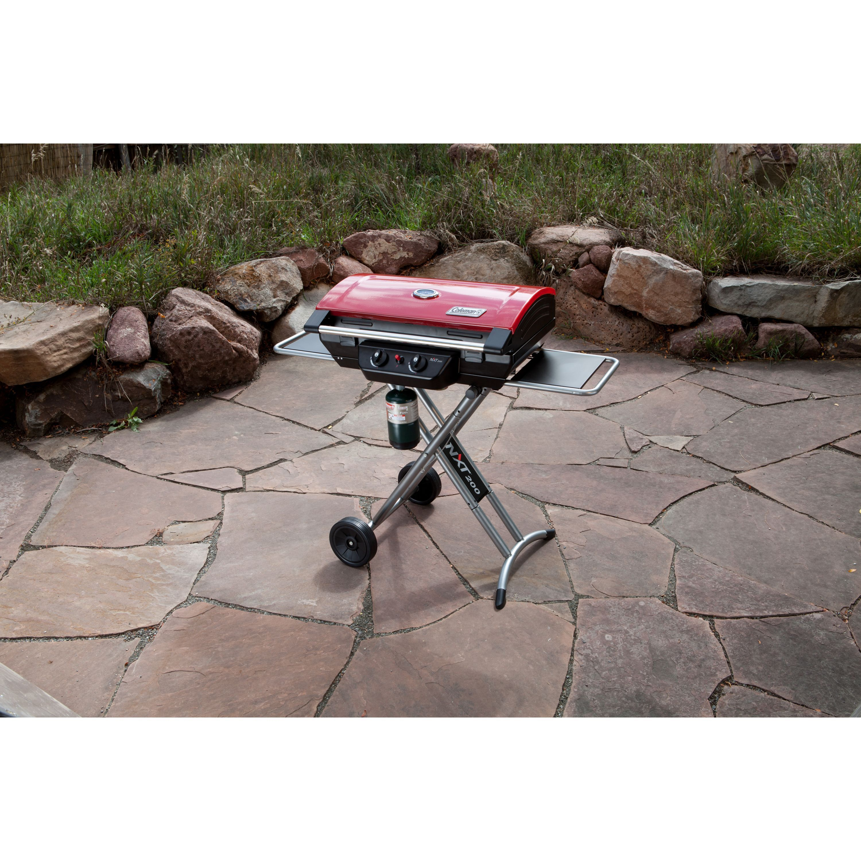 Coleman NXT 200 Grill (NXT 200 Grill), Red
