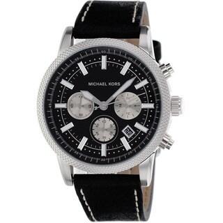 Michael Kors Men's MK8310 Scout Black Watch