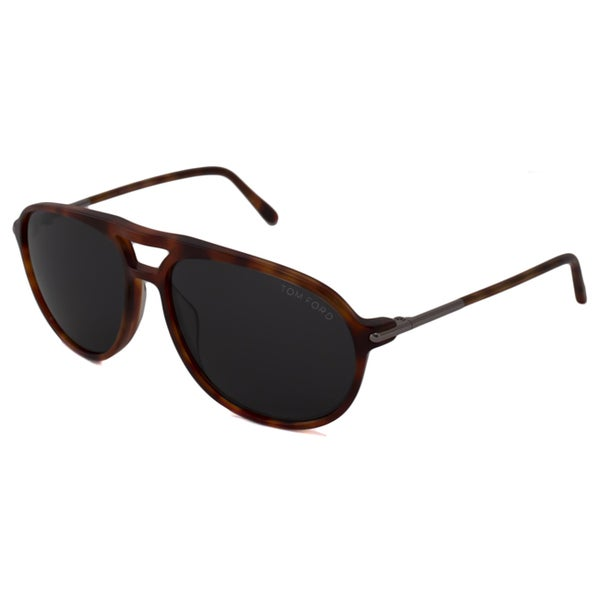 098d8ca08f9b4 Shop Tom Ford Men s TF0255 John Aviator Sunglasses - Free Shipping ...