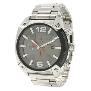 Diesel Men's DZ4298 Overflow Chronograph Stainless Steel Watch