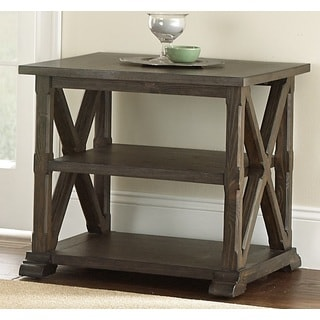 Springfield Weathered End Table by Greyson Living