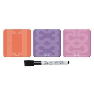 Quartet Rewritables Dry Erase Magnets (Pack of 3)