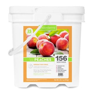 Lindon Farms Freeze Dried Peaches (156 Servings)