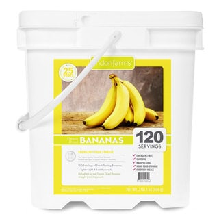 Lindon Farms Freeze Dried Bananas (120 Servings)