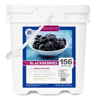 Lindon Farms Freeze Dried Blackberries (156 Servings)