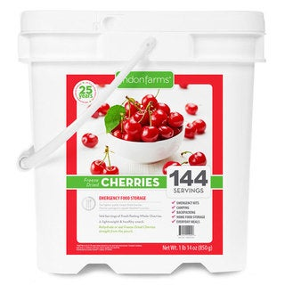 Lindon Farms Freeze-dried Cherries (144 Servings)