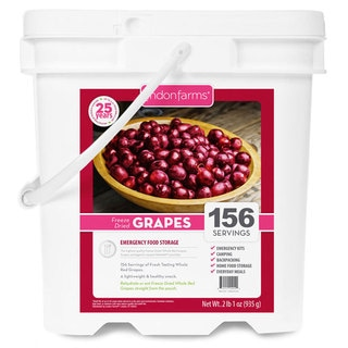 Lindon Farms Freeze-dried Grapes (156 Servings)
