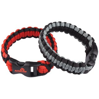 TrailWorthy Survival Paracord Bracelet (Case of 250)