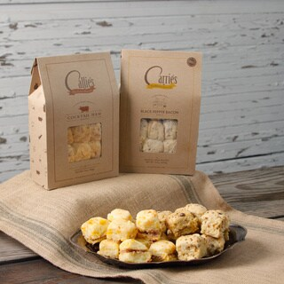 Callie's Black Pepper Bacon and Cocktail Ham Biscuits
