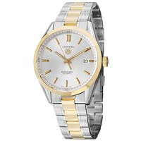 Tag Heuer Men's WV215D.BD0788 'Carrera' 18kt Yellow Gold Automatic Two-Tone Stainless Steel and Gold Watch