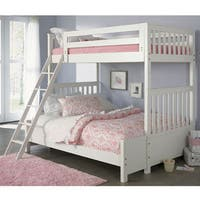 Liberty Arielle Antique White Twin/Full Bunkbed