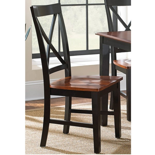 Overstock Dining Room Chairs: Greyson Living Keaton Solid Wood Dining Chair (Set Of 2