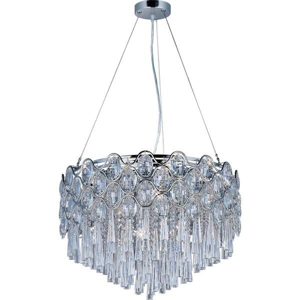 Shop Maxim Jewel 20-light Single Pendant Light Fixture - Free ...