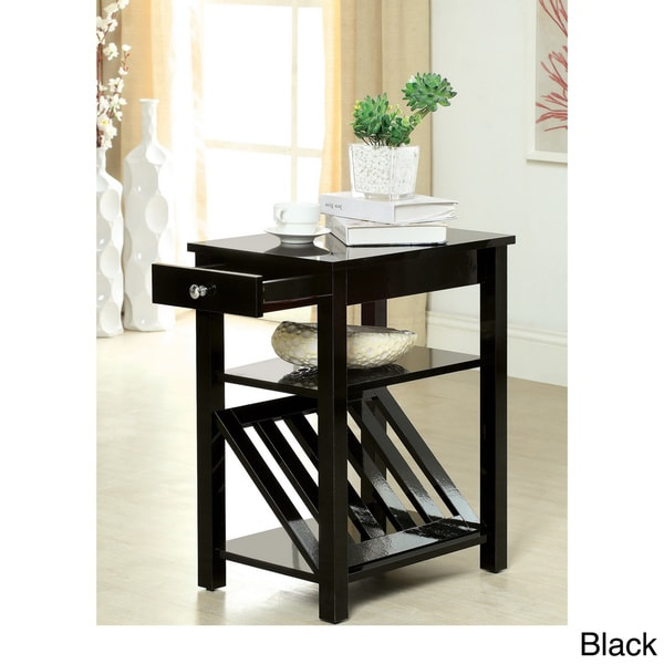 Shop Furniture Of America Corin Accent Table With Storage