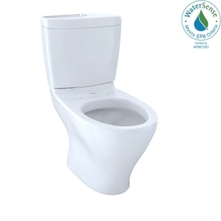 Toto CST412MF#01 Cotton White Aquia Dual-flush Toilet