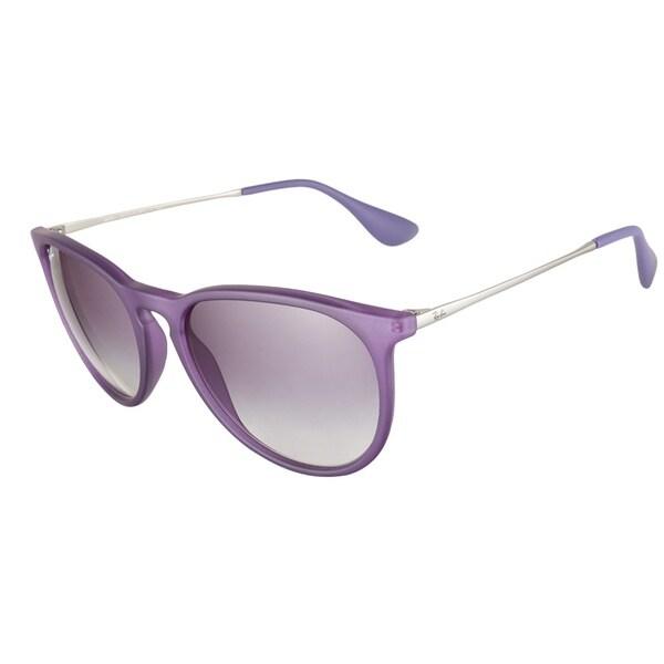 Ray-Ban RB4105 6020 17 Matte Blue Mirror 50 Sunglasses