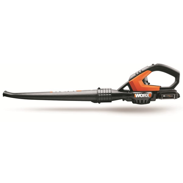 Worx Cordless Electric 20V Lithium-Ion Leaf Blower with ...