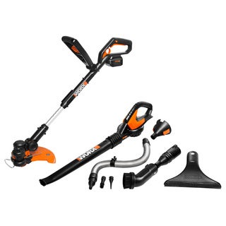Worx Cordless Combo Kit 32 Volt Lithium-Ion with Air Accessories