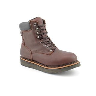 Golden Retriever Men's '3901' Leather Boots (Size 9 )