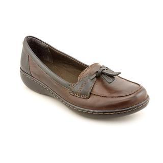 Clarks Women's 'Ashland Bubble' Leather Dress Shoes - Wide (Size 12 )