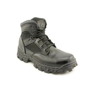 Rocky Men's 'Alpha Force' Leather Boots - Wide (Size 11 )