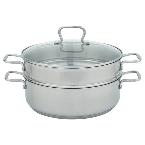 Range Kleen Mega Pan - Mega Pan/Steamer/Glass Lid