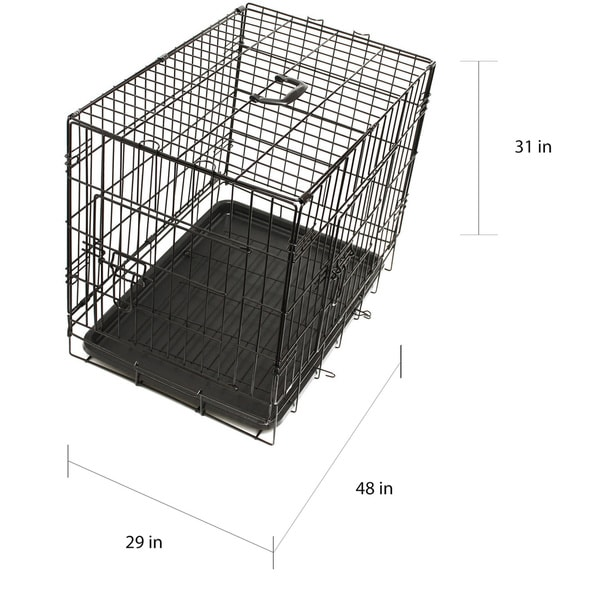 20 by 13 by 16 Paws /& Pals 20 Wire Metal Cage Pet Cat//Dog Single Door Kennel Crate