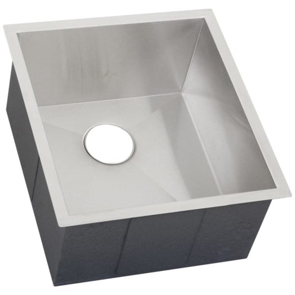 Ticor 18 5 Inch 16 Gauge Stainless Steel Square Single Bowl Undermount Bar Sink