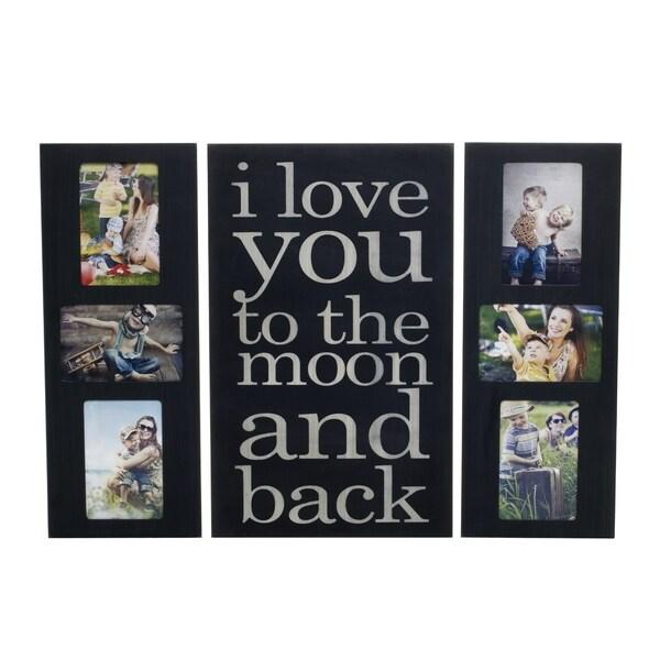 Melannco Collage and Sentiment Plaque Set (Set of 3)