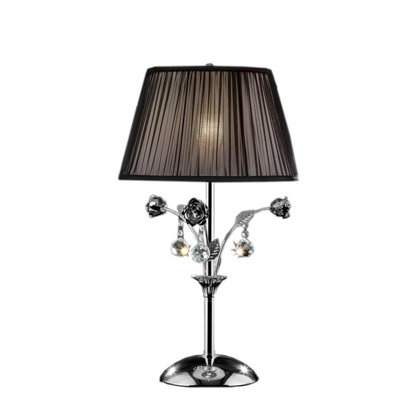 Crystal Rose 28-inch Table Lamp