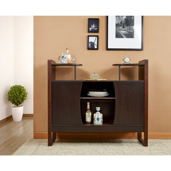 Furniture of america dining storage buffet free shipping for Furniture of america alton modern multi storage buffet espresso