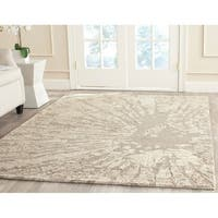 Safavieh Handmade Bella Modern Abstract Winter Taupe Wool Rug - 8' x 10'