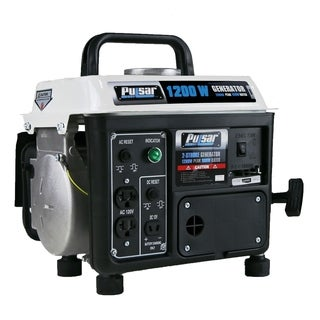 Pulsar 2 Stroke Gasoline Peak 1200W Rated 900W Generator