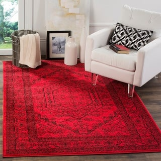 Safavieh Adirondack Vintage Red/ Black Rug (6' x 9')