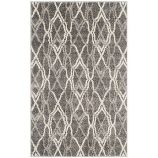 Safavieh Amherst Indoor/ Outdoor Grey/ Light Grey Rug (2'6 x 4')