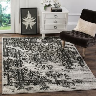 Wishlist Gray Heart Safavieh Adirondack Vintage Distressed Silver Black Rug 8 X 10