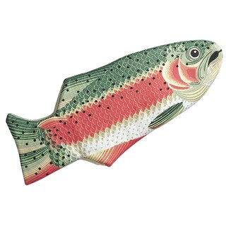 Boston Warehouse Rainbow Trout Quilted Cotton Oven Mitt
