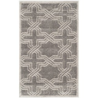 Safavieh Amherst Indoor/ Outdoor Grey/ Light Grey Rug - 3' x 5'