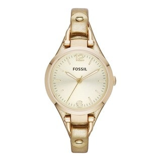 Fossil Women's Georgia Gold Metallic Strap Watch
