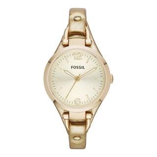 Fossil Women's Georgia Gold Metallic Strap Watch