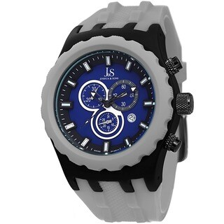 Joshua & Sons Men's Chronograph Grey Strap Watch