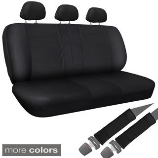 OxGord Synthetic/Imitation Leather 8-piece Bench Seat Cover Set for Any Split Benches (More options available)