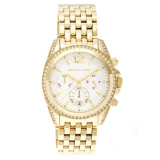 Michael Kors Women's MK5835 'Pressley' Gold Watch