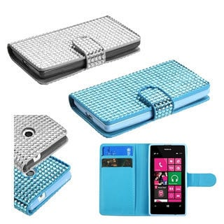 INSTEN Diamonds Phone Case Cover for Nokia Lumia 521