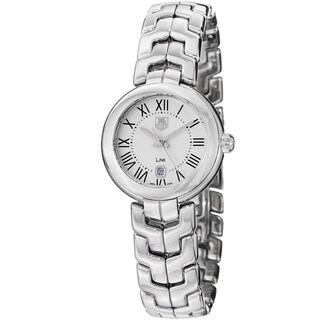 Tag Heuer Women's 'Link' Silver Dial Stainless Steel Quartz Watch
